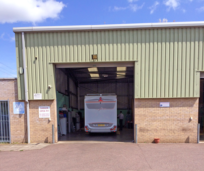 Motorhome service and MOT test centre in Cambridgeshire